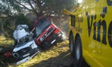 Accidente C-65 con heridos leves